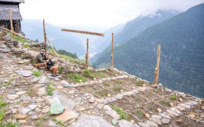 Annina & Douglas kreierten einen Alpengarten
